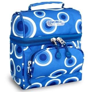 J World Target Blue Corey Lunch Bag