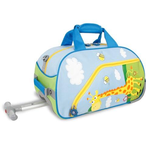 J World Savanna Kids 17-inch Rolling Duffel Bag