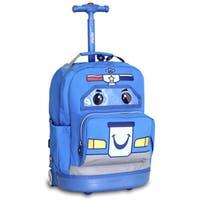 J World Patrol Kids 16-inch Rolling Backpack