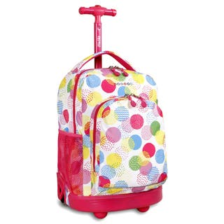 J World Speckle Sunny 17-inch Rolling Backpack https://ak1.ostkcdn.com/images/products/10404396/J-World-Speckle-Sunny-17-inch-Rolling-Backpack-P17505950.jpg?impolicy=medium