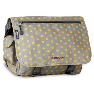 J World Candy Buttons Terry Messenger Bag
