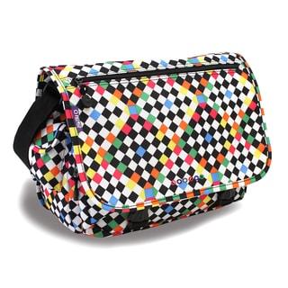 J World Checkers Terry Messenger Bag