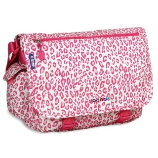 J World Leopard Terry Messenger Bag