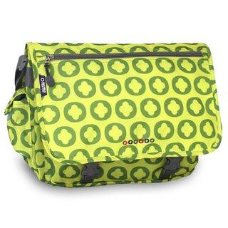 J World Lime Logo Terry Messenger Bag