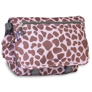 J World Pink Zulu Terry Messenger Bag