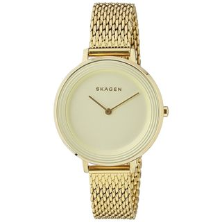 Skagen Women's SKW2333 'Ditte' Gold-Tone Stainless Steel Watch