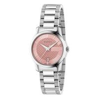 eb47ca9500b Shop Gucci Women s YA133308  Interlocking-G  Stainless Steel Watch ...