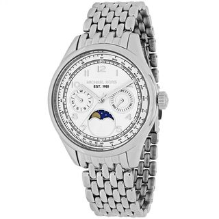 Michael Kors Women's MK6180 'Ameila' Moon phase Chronograph Stainless Steel Watch