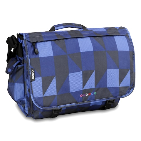 J World Block Navy Thomas 15.4-inch Laptop Messenger Bag