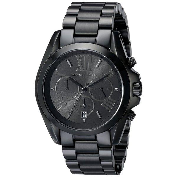 Michael Kors MK5550 Bradshaw Black Stainless Steel Bracelet Watch