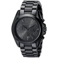 Michael Kors  Bradshaw Black Stainless Steel Bracelet Watch