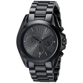 Michael Kors MK5550 Bradshaw Black Stainless Steel Bracelet Watch