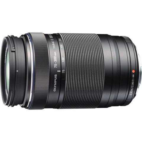 Olympus M.Zuiko - 75 mm to 300 mm - f/4.8 - 6.7 - Telephoto Zoom Lens for Micro Four Thirds