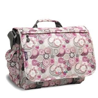 J World Purple Lemon Thomas 15.4-inch Laptop Messenger Bag