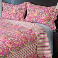Windsor Home Paisley 3-piece Quilt Set