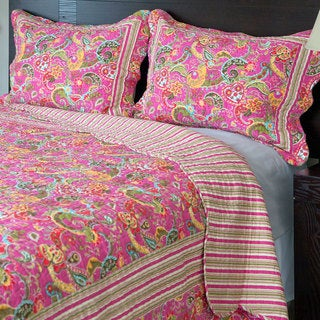 Link to Windsor Home Paisley 3-piece Quilt Set Similar Items in Bed-in-a-Bag
