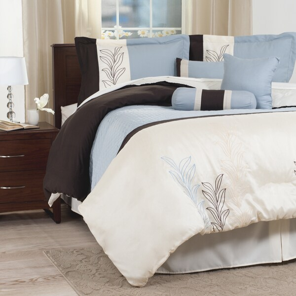 Windsor Home Alexandria 7-piece Embroidered Comforter Set