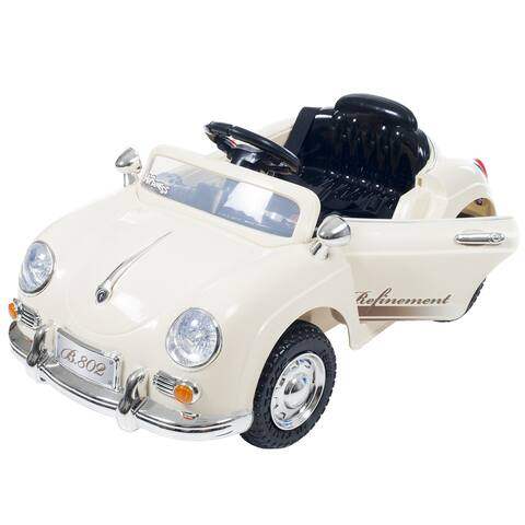 Ride On Toy Car, Battery Powered Classic Sports Car With Remote Control & Sound by Lil Rider  Toys for Boys & Girls