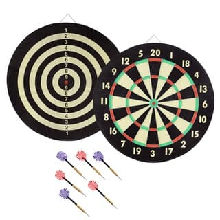Game Room Dart Set with 6 Darts and Board by Trademark Gameroom|https://ak1.ostkcdn.com/images/products/10404872/P17506406.jpg?impolicy=medium