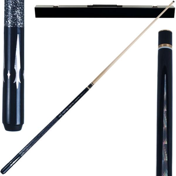 Monarch Hardwood Deisgner 2 Piece Billiard Cue Stick by Trademark Gameroom