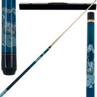 Dragon 2 Piece Billiard Cue Stick with Case by Trademark Gameroom