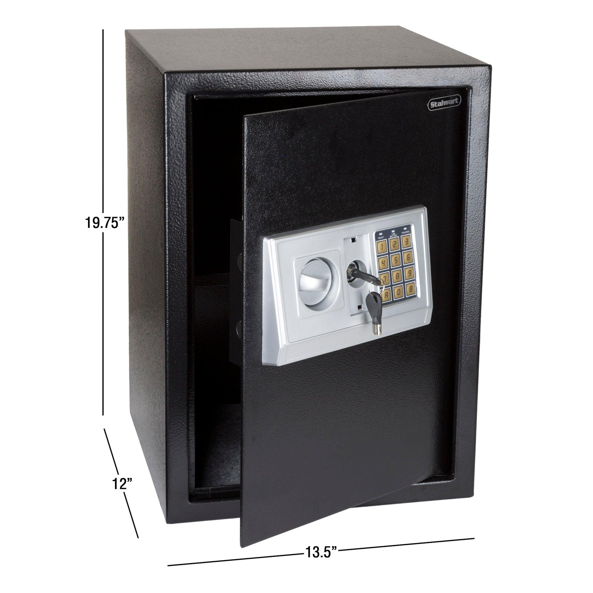 Large Heavy Duty Fireproof Digital Safe Box Gun Cash Jewelry Home Office Secure