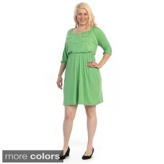 Ella Samani Women's Plus Size Dress