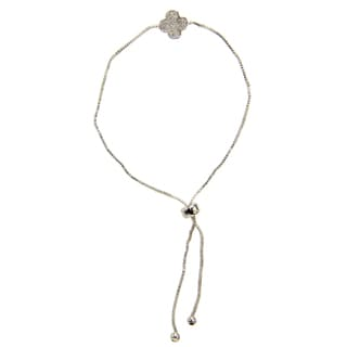 Saachi Clover Charm Adjustable Bracelet (China)