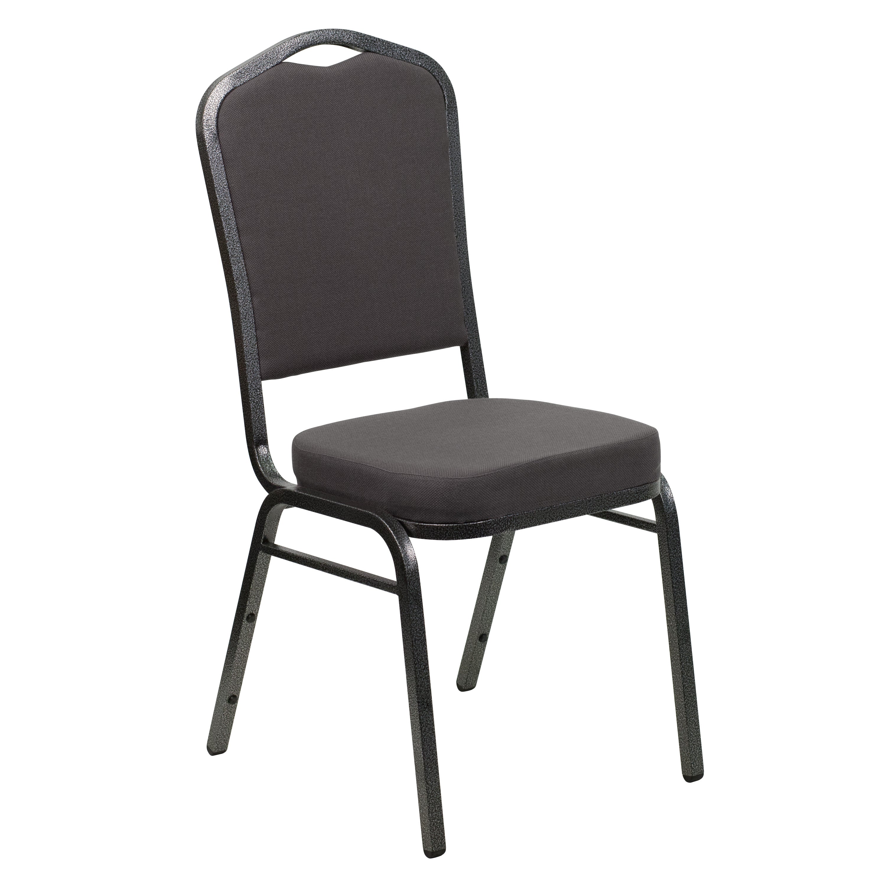 Decor Gray Upholstered Stack Dining Chairs (Decor Gray Up...