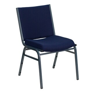 Santem Blue Upholstered Stack Dining Chairs