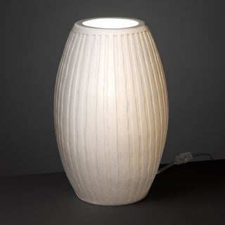 Justice Design Group Limoges Tall Egg Accent Lamp, Waterfall