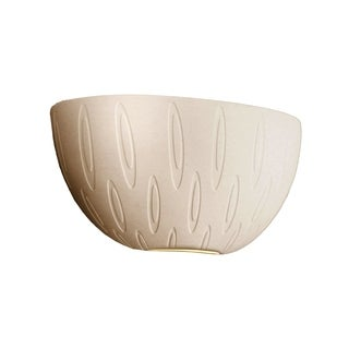 Justice Design Group Limoges ADA Quarter Sphere Wall Sconce, Ovals
