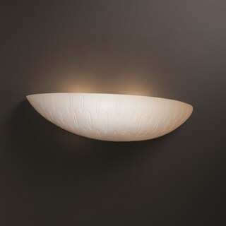 Justice Design Group Limoges ADA Small Sliver Wall Sconce, Ovals