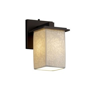 Justice Design Group Limoges 1-light Montana Wall Sconce