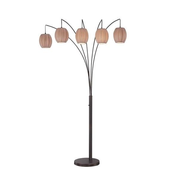 Lite source kaden 5 light floor lamp free shipping today lite source kaden 5 light floor lamp mozeypictures Image collections
