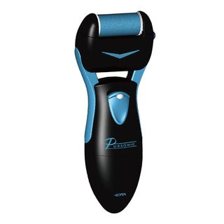 Pursonic Callus Remover Foot Spa and Foot Smoother wIth 2 Cartridge Rollers