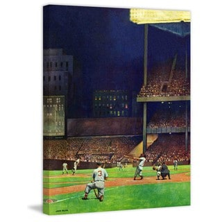 """Marmont Hill - """"Yankee Stadium"""" by John Falter Painting Print on Canvas"""