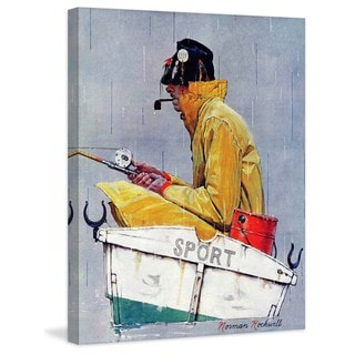 """Marmont Hill - """"Sport"""" by Norman Rockwell Painting Print on Canvas"""