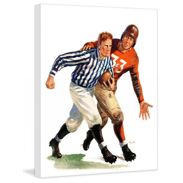 """Marmont Hill - """"But Ref!"""" by Lonie Bee Painting Print on Canvas"""