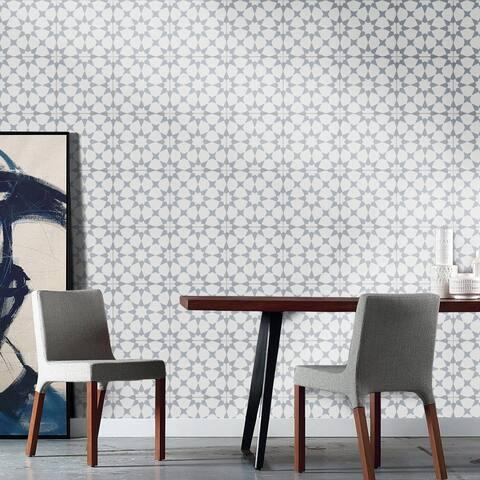 "Handmade Medina in Gray Tile, Pack of 12 - 8"" x 8"" (Morocco)"