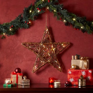 Apothecary & Company 20in. LED Twine Star