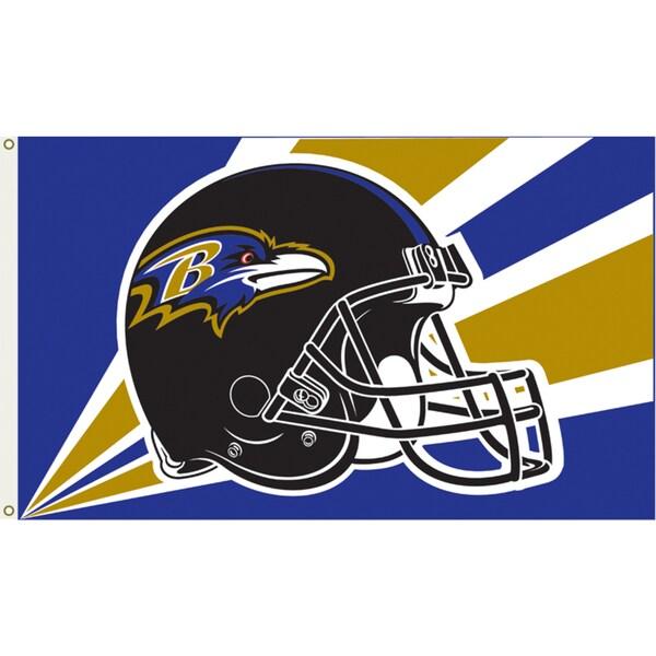 Baltimore Ravens 3'x5' Flag