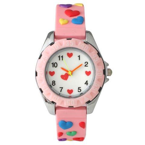 Olivia Pratt Children's Colorful Hearts Watch