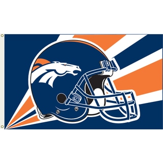Denver Broncos 3'x5' Flag