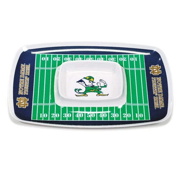 Notre Dame Chip and Dip Tray