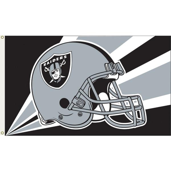 Oakland Raiders 3'x5' Flag