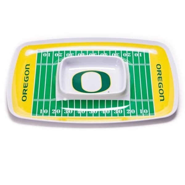 Oregon Ducks Chip and Dip Tray