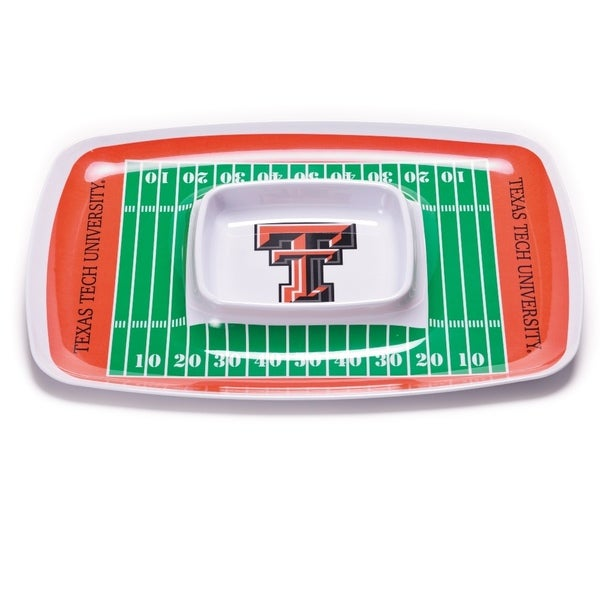 Texas Tech Chip and Dip Tray