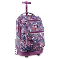 J World Baby Birdy Sundance Rolling 15.4-inch Laptop Backpack