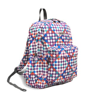 J World Checkmate OZ Expandable 17-inch Backpack